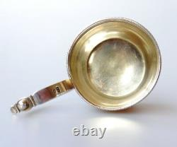 1888 Antique Russian Imperial 84 Sterling Silver Tea Glass Holder Saucer/ 226gr