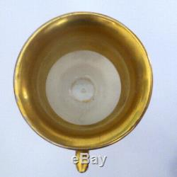 1892 Tsar Alexander III Imperial Russian Antique Porcelain/ Ceramic Cup & Saucer