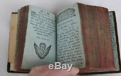 18c RUSSIAN ROYAL CHRISTIANITY ORTHODOX MANUSCRIPT BOOK ICON SLAVIC CHURCH CROSS