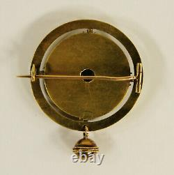 Alexander Tillander Antique Imperial Russian 56 Gold Brooch