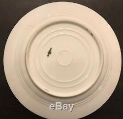 Alexander lll Imperial Russian Porcelain Desert Plate from Coronation Service