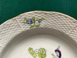 Antique 18th Century Imperial Russian Porcelain Factory Bowl Tsarina Catherine