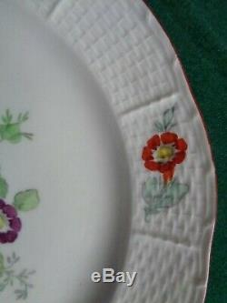 Antique 18th Century Imperial Russian Porcelain Factory Plate Tsarina Catherine