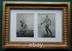 Antique Imperial Russian Dancer in Exile Oleg Dunaeff Ballets Russe Soloist