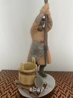 Antique Imperial Russian Gardner Porcelain Figure