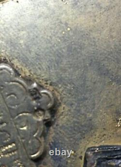 Antique Imperial Russian Icon Theotokos Kazanskaya- Makers and Assayer Marks