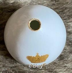 Antique Imperial Russian Porcelain Royal Easter Egg Tsarevich Alexei Romanov