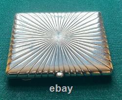 Antique Imperial Russian Presentation Silver Cigarette Case Grand Duke Romanov