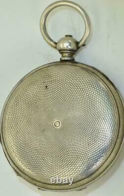 Antique Imperial Russian officer's award silver pocket watch by T. F. Cooper c1850