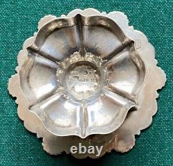 Antique Russian Imperial 19th Century Solid Silver Master Salt Tverskoi Stahle