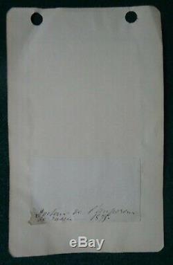 Antique Russian Imperial Court Prescription Signed Dr Sergei Botkin 1875 Romanov