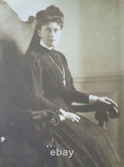 Antique Russian Imperial Photo Postcard Grand Duchess Elisabeth Ella Romanov