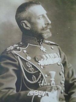 Antique Russian Imperial Photographic Postcard Grand Duke Konstantine KR Romanov