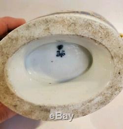 Antique Russian Imperial Porcelain Sauce Boat The Mikhail Pavlovich Service