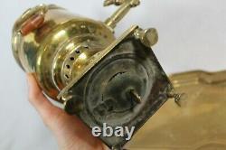 Antique Russian Imperial Samovar Brass Tea Urn Percolator Russian Tulsky Manner