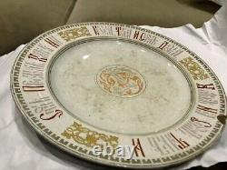 Antique Russian old proverb imperial Porcelain old Plate
