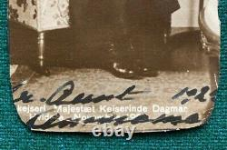 Antique Signed Postcard Imperial Russian Dowager Empress Romanov Dagmar 1925