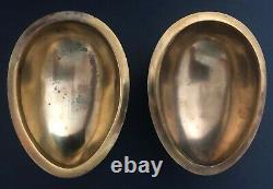 Big Antique Imperial Russian 84 Silver Shaded Enamel Egg (Khlebnikov)