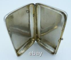 Imperial Russian Solid Silver Cigar / Antique 19th Century Cigarette Case 84