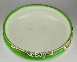 KUZNETSOV Antique Imperial Russian ceramic wash basin bowl pitcher, Art Nouveau