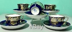 KUZNETSOV Antique Imperial Russian porcelain Coffee set, tea, tableware