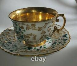 Russia Russian Imperial Porcelain Cup and Saucer 1825-1855