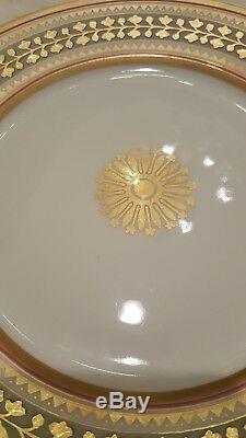 Russia Russian Imperial Porcelain Plate Babigon Service 1898