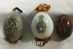 Russian Antique Imperial Period 2 Easter Eggs