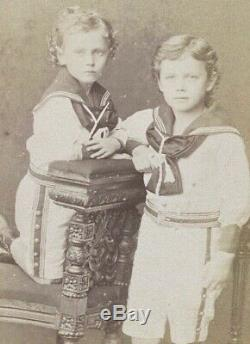 Russian Imperial Antique CDV Photo Tsar Nicholas II Romanov Grand Duke Michael