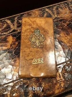 Russian Imperial Burch Cigarette Case 1892
