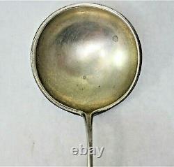 Russian Imperial Klingert Silver 84 Shaded Enamel Cloisonne Spoon Hallmark