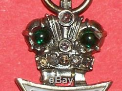 Russian Imperial Pendant Jewelry Faberge Russia Antiques Vintage Jetton Medal