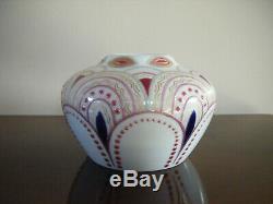 Russian Imperial Porcelain Factory Vase Nicholas II, 1909