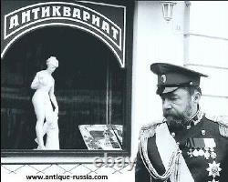 Set 3 Spoon Ovchinnikov Double Headed Eagle Russian Imperial Silver 84 Antique