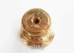 Two Russian Imperial Gold & Silver Seals, Marked Ek Erik August Kollin