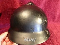 Very Nice Cond. Original Antique Sohlberg Helmet Ww I Imperial Russia Russian